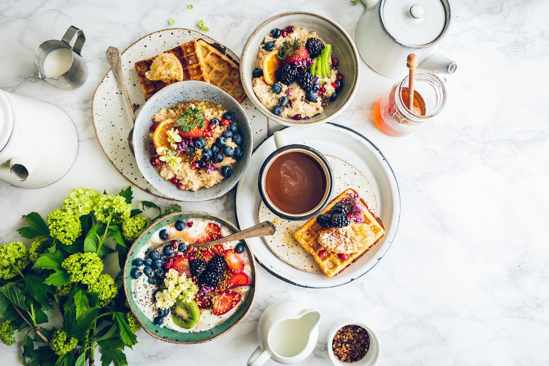 Erfolgreich starten mit dem richtigen Frühstück.